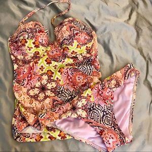 Victoria's Secret Push Up Tankini Swimsuit